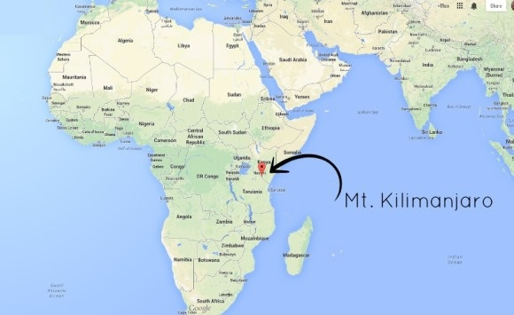 Mt Kilimanjaro On World Map.Where Is Kilimanjaro